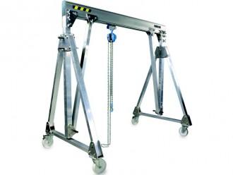 Portique aluminium pliable - Devis sur Techni-Contact.com - 1
