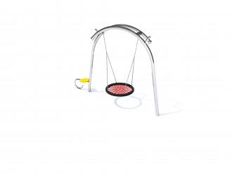 Portique balançoire nid acier inoxydable - Devis sur Techni-Contact.com - 1