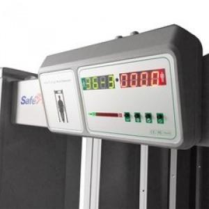 Portique contrôle accès avec mesure température corporelle - Devis sur Techni-Contact.com - 1