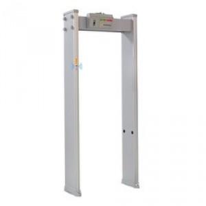 Portique contrôle accès avec mesure température corporelle - Devis sur Techni-Contact.com - 2