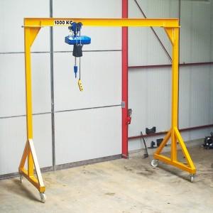 Portique de levage en aluminium - Devis sur Techni-Contact.com - 3