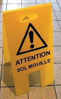 Portique de prévention sol mouillé - Devis sur Techni-Contact.com - 1
