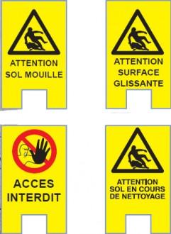 Portique de prévention sol mouillé - Devis sur Techni-Contact.com - 2
