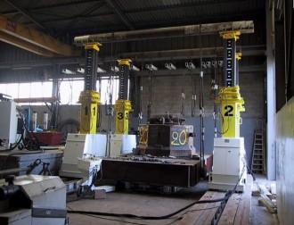 Portique hydraulique à mâts télescopiques - Devis sur Techni-Contact.com - 1