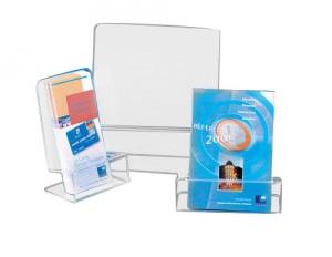 Portoir à maintien pour brochures - Devis sur Techni-Contact.com - 1