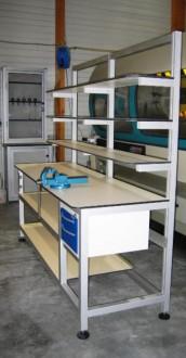 Poste de travail atelier ergonomique - Devis sur Techni-Contact.com - 5