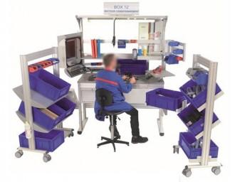 Poste de travail point qualité d'atelier - Devis sur Techni-Contact.com - 1