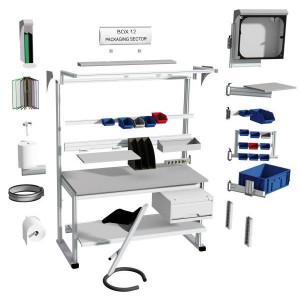Poste de travail qualité modulable - Devis sur Techni-Contact.com - 2