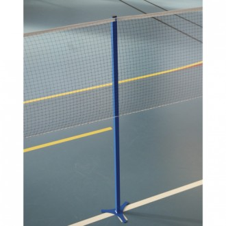 Poteau badminton intermédiaire scolaire - Devis sur Techni-Contact.com - 1