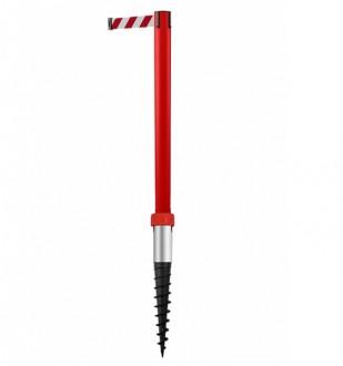 Poteau de balisage à enfoncer dans le sol - Devis sur Techni-Contact.com - 2