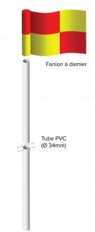 Poteau de corner flexible Hauteur 1m50 - Devis sur Techni-Contact.com - 2