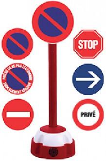 Poteau de signalisation - Devis sur Techni-Contact.com - 1