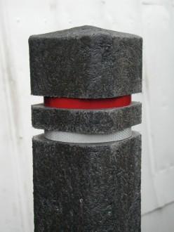 Poteau de ville plastique recyclé tête de diamant 2 réflecteurs - Devis sur Techni-Contact.com - 4