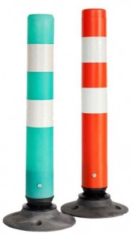 Poteau flexible de signalisation - Devis sur Techni-Contact.com - 1