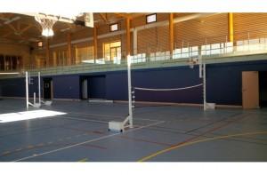Poteaux d'entraînement de volley - Devis sur Techni-Contact.com - 1