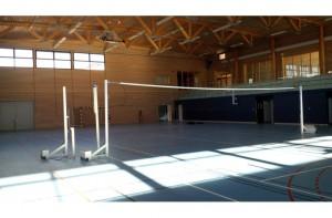 Poteaux d'entraînement de volley - Devis sur Techni-Contact.com - 2