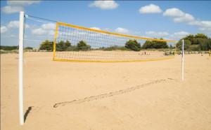 Poteaux de beach volley entrainement - Devis sur Techni-Contact.com - 1