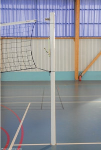Poteaux de volley ball d'entraînement en aluminium - Devis sur Techni-Contact.com - 2