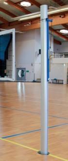 Poteaux de volley en aluminium pour compétition - Devis sur Techni-Contact.com - 1