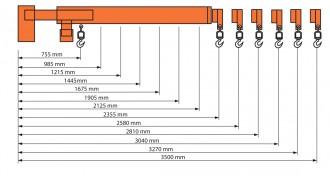 Potence à flèche télescopique - Devis sur Techni-Contact.com - 4
