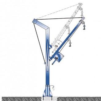 Potence de levage fixe à rotation 360° - Devis sur Techni-Contact.com - 1