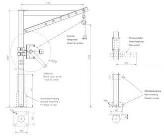 Potence de manutention 150 Kg - Devis sur Techni-Contact.com - 2