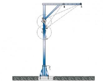 Potence de manutention station d'épuration - Devis sur Techni-Contact.com - 1