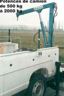 Potence électrique pour camion - Devis sur Techni-Contact.com - 1