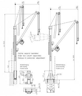 Potence pour station d'épuration - Devis sur Techni-Contact.com - 2