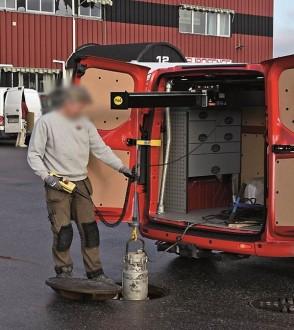Potence véhicule utilitaire - Devis sur Techni-Contact.com - 1