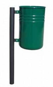 Poubelle avec conteneur cylindrique - Devis sur Techni-Contact.com - 1