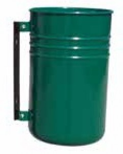 Poubelle avec conteneur cylindrique - Devis sur Techni-Contact.com - 2
