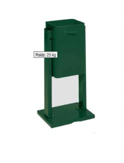 Poubelle avec ou sans toit - Devis sur Techni-Contact.com - 1