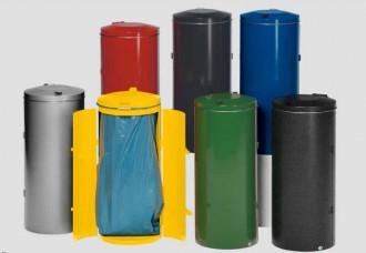 Poubelle compacte à deux battants - Devis sur Techni-Contact.com - 1