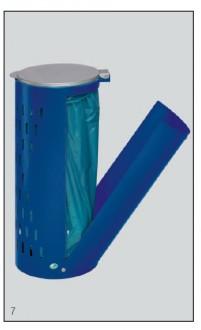 Poubelle compacte avec porte - Devis sur Techni-Contact.com - 2