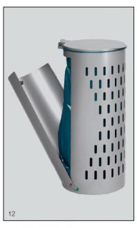 Poubelle compacte avec porte - Devis sur Techni-Contact.com - 3