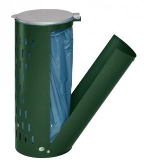 Poubelle compacte en tôle d'acier galvanisé - Devis sur Techni-Contact.com - 2