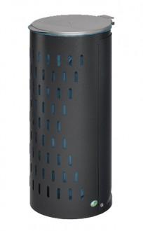 Poubelle compacte en tôle d'acier galvanisé - Devis sur Techni-Contact.com - 4