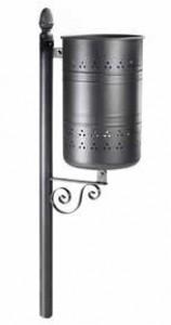 Poubelle cylindrique 45 litres - Devis sur Techni-Contact.com - 1