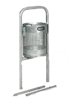 Poubelle d'extérieure en acier - Devis sur Techni-Contact.com - 2