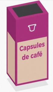 Box de recyclage capsules de café - Devis sur Techni-Contact.com - 1
