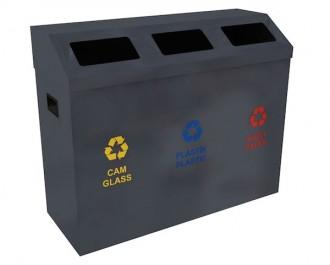 Poubelle de recyclage pour extérieur - Devis sur Techni-Contact.com - 2