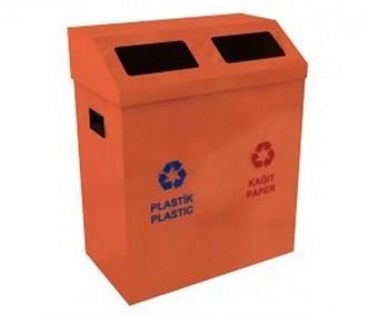 Poubelle de recyclage pour extérieur - Devis sur Techni-Contact.com - 3