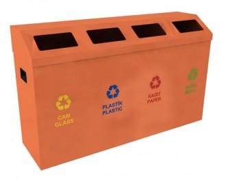 Poubelle de recyclage pour extérieur - Devis sur Techni-Contact.com - 4