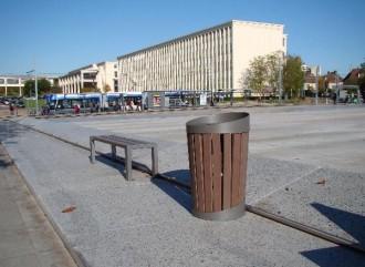 Poubelle de ville - Devis sur Techni-Contact.com - 2