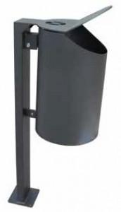 Poubelle extérieure avec cendrier - Devis sur Techni-Contact.com - 1