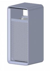 Poubelle publique en béton - Devis sur Techni-Contact.com - 1