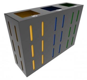 Poubelle tri design - Devis sur Techni-Contact.com - 1