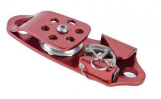 Poulie autobloquante à côtés oscillants en aluminium - Devis sur Techni-Contact.com - 1