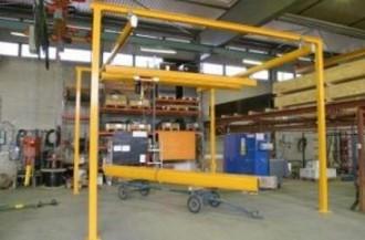 Poutre roulante suspendue 2 tonnes - Devis sur Techni-Contact.com - 1